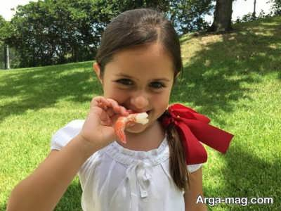 معرفی خواص میگو برای کودک