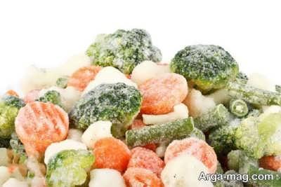 مضرات غذای منجمد چیست؟