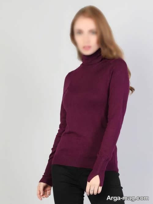 مدل لباس یقه اسکی