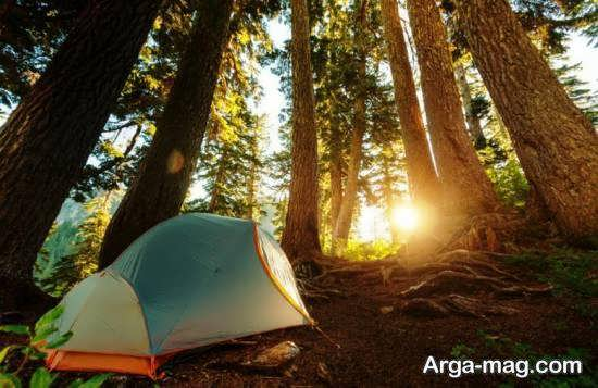 وسایل مورد نیاز و کاربردی برای چادر زدن در طبیعت