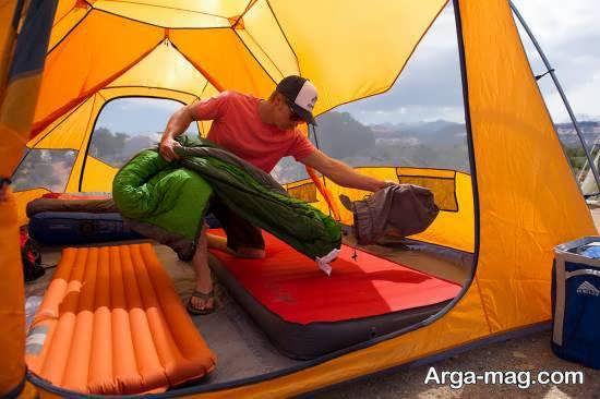 چادر زدن در طبیعت و نکات ضروری برای جلوگیری از آسیب های احتمالی