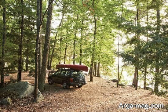 آموزش چادر به پا کردن در طبیعت با اصولی ضروری