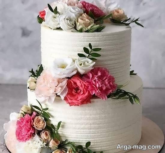 ایده هایی شیک و خاص از کیک عروس دو طبقه
