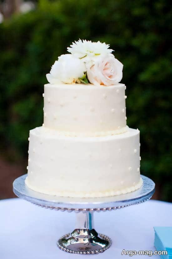 ایده هایی شیک و بینظیر از کیک عروسی دو طبقه