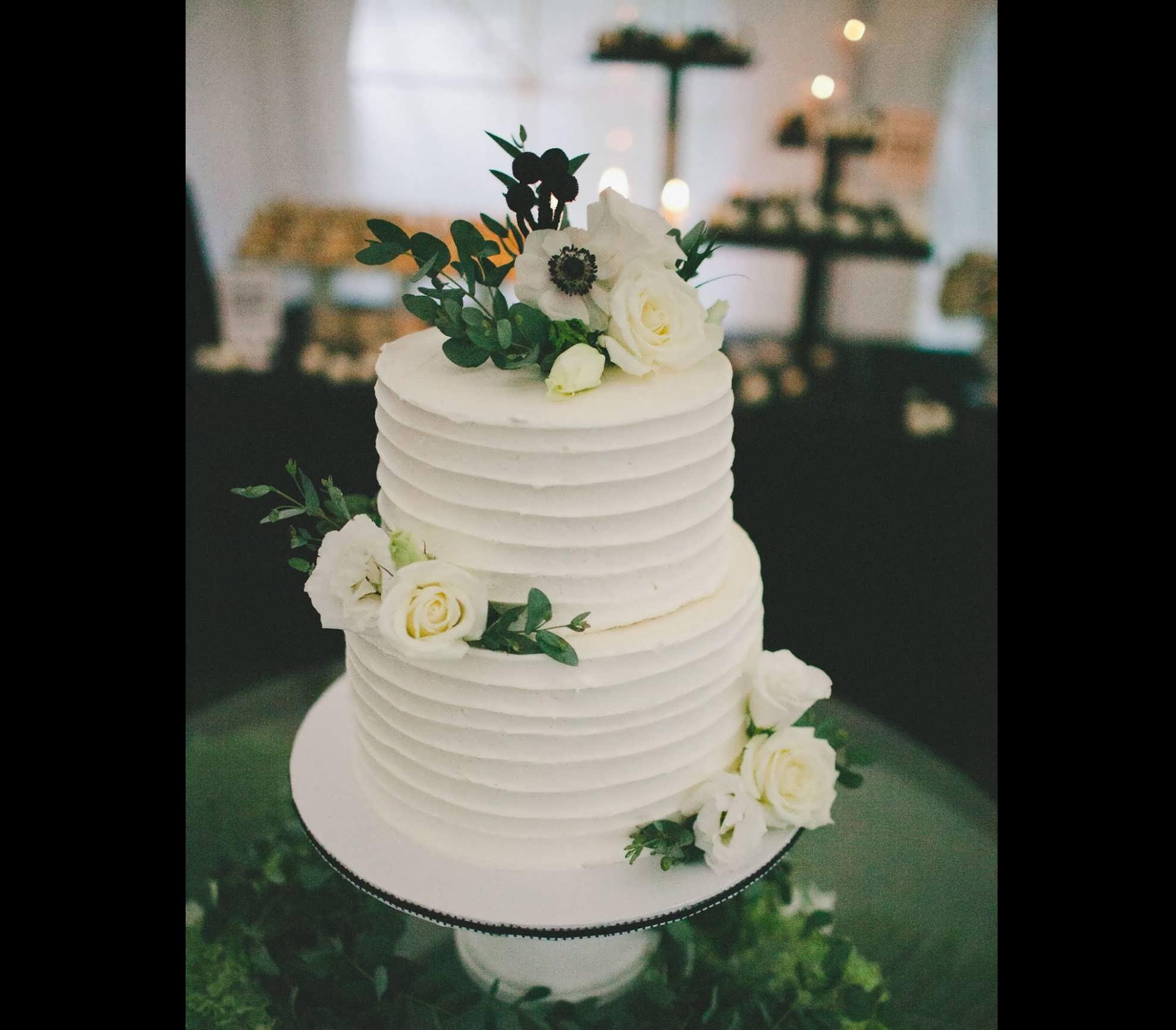 ایده های زیبایی از کیک عروسی دو طبقه