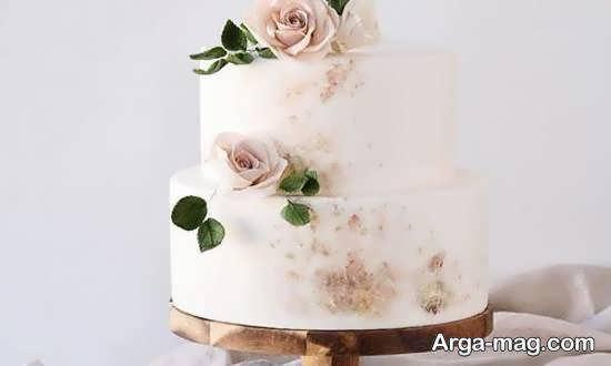ایده هایی جذاب و جالب از کیک عروسی دو لایه