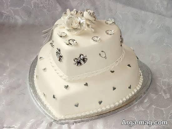 مجموعه ای دوست داشتنی از کیک عروسی دو طبقه برای تمامی سلیقه ها