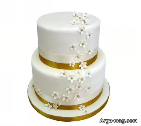 ایده هایی لاکچری و منحصر به فرد از کیک عروسی دو طبقه