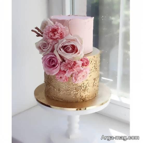 ایده هایی شیک و لاکچری از کیک عروسی دو طبقه بریا انواع سلیقه ها