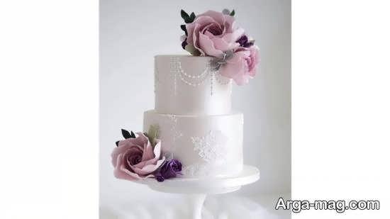 مجموعه ای جدید و خلاقانه از کیک عروسی دو ردیف