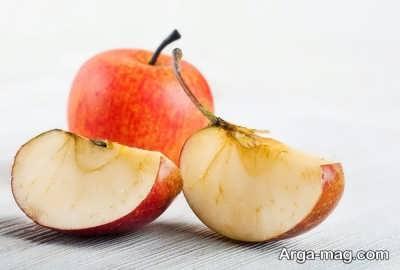 قهوه ای شدن سیب