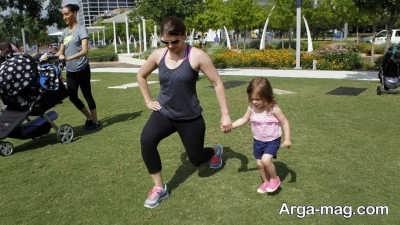 اصول انجام دادن حرکت لانگز