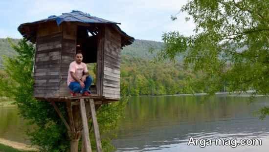آشنایی با دریاچه الندان و زیبایی های تماشایی آن