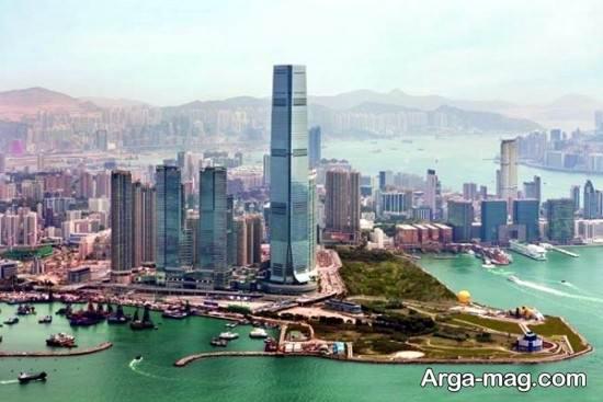 برج های شرق آسیا