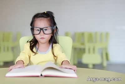 کودک باهوش و کنجکاوی