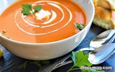 روش پخت سوپ سرد