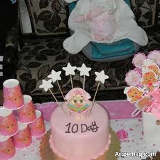 مجموعه ای ایده آل از ایده های دوست داشتنی برای تزیین جشن 10 روزگی نوزاد