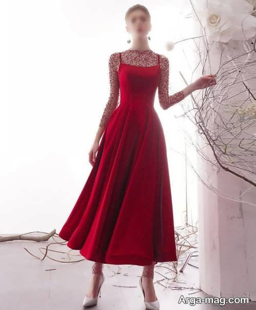لباس مجلسی قرمز