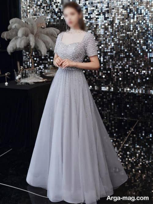 مدل لباس مجلسی 2021 رنگ روشن