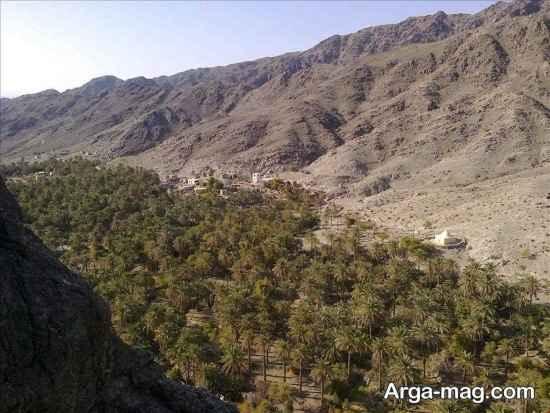 ارتفاعات قلعه گنج