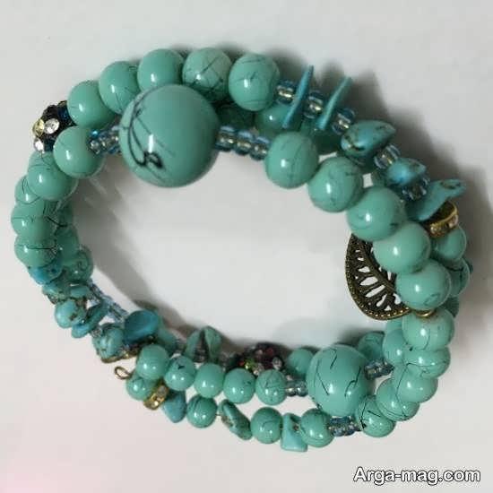 ایده هایی زیبا و جذاب از دستبندهای خوشه ای همراه با آموزش ساخت آنها