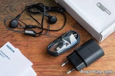 محتویات جعبه گوشی نوکیا ۵.۳