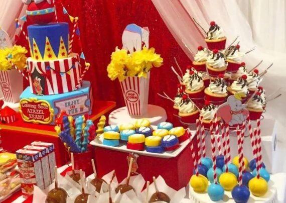 ایده هایی بینظیر و جذاب از تزیین خوراکی های جشن تولد