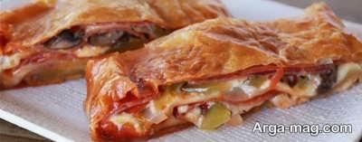 طرز تهیه پیتزا پاکتی در خانه