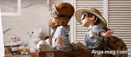 مسافرت رفتن با کودک