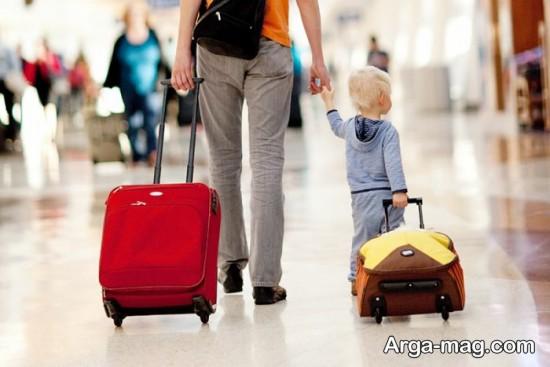 نکات مسافرت با کودک