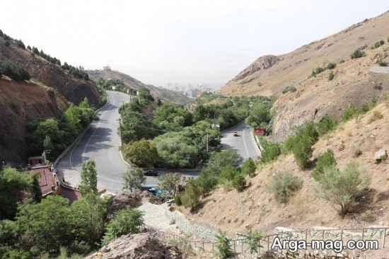 دیدنی های توچال تهران