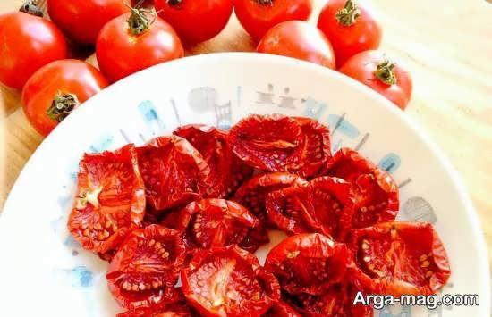 آموزش خشک کردن گوجه فرنگی با چهار روش