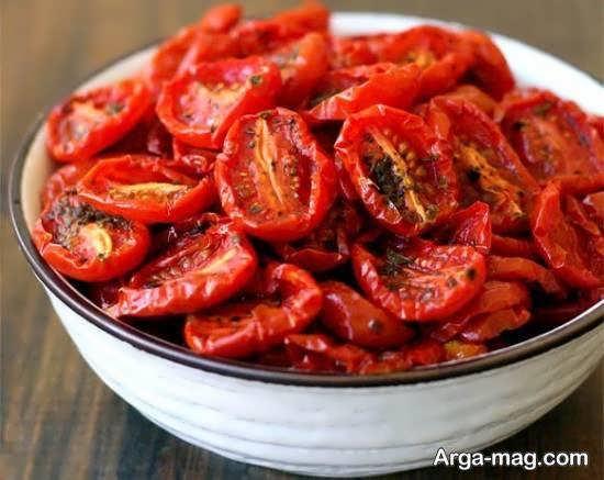 آموزش شیوه ی آسان و راحت خشکاندن گوجه فرنگی