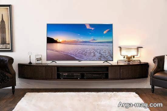 انواع مدل های زیبای میز تلویزیون ۲۰۲۱