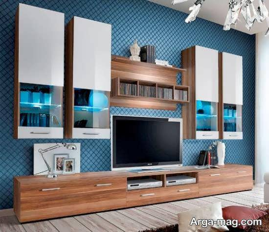 الگوهایی شیک و منحصر به فرد از میز تلویزیون۲۰۲۱