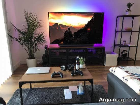 الگوهایی دیدنی و خارق العاده از میز تلویزیون ۲۰۲۱