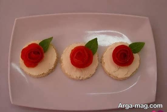 نمونه هایی زیبا و خلاقانه از تزیین نان تست