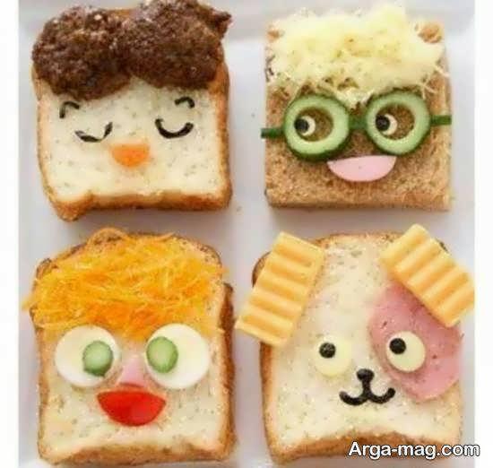ایده هایی زیبا و خارق العاده از تزیینات نان تست