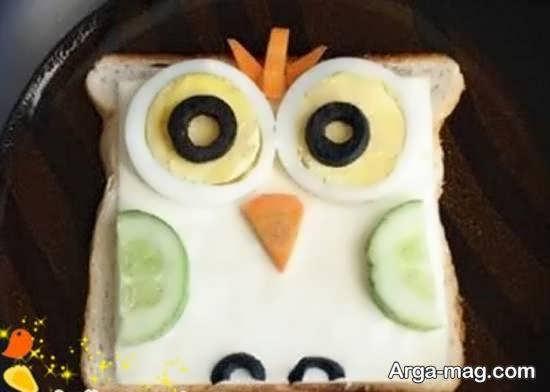 نمونه هایی خلاقانه و خاص برای زیباسازی نان تست