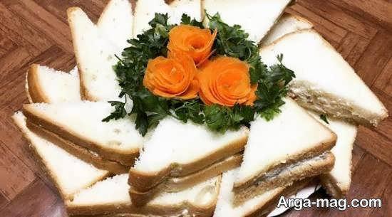 ایده هایی زیبا و جدید از تزیین نان تست برای صبحانه