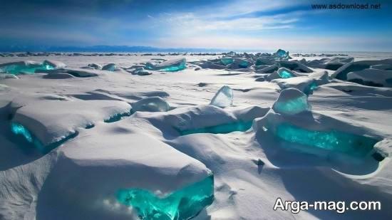 آب های یخ زده بایکال