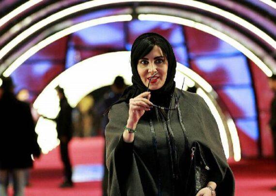 عکسی از لیلا بلوکات قبل از بازیگری