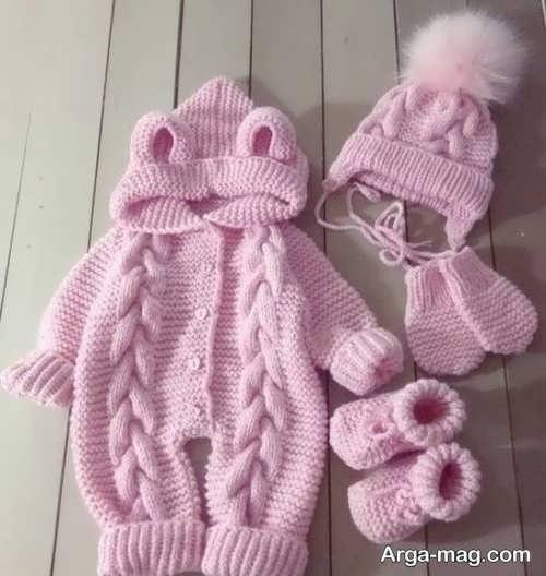 ست لباس مخصوص نوزاد