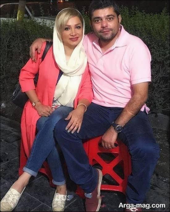 بیوگرافی شاهد احمدلو + همسرش