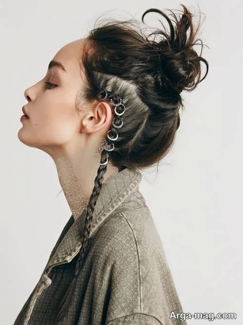 شینیون مو دخترانه 2021