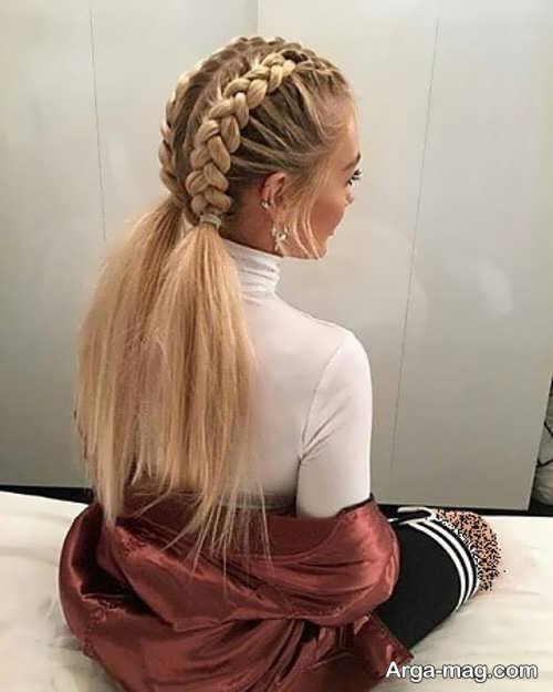شینیون موی زیبا دخترانه