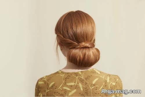 آرایش مو صاف