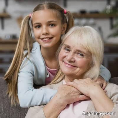 جملاتی برای مادر بزرگ شدن