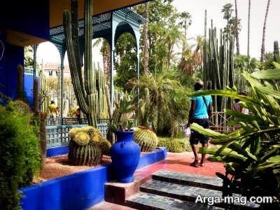 باغ گیاه شناسی واقع در مراکش