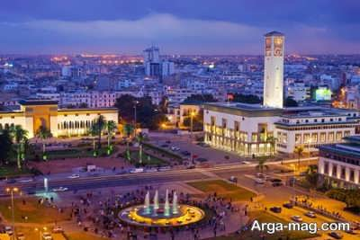 بازدید از مناره زیبای مراکش